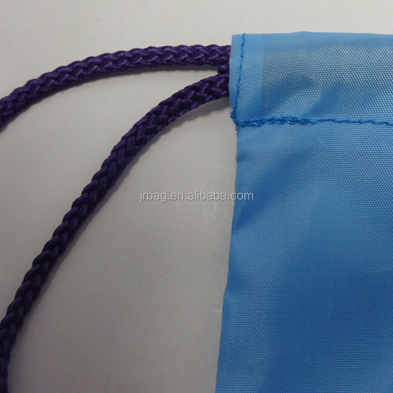 Heavy duty Nylon Blue Drawstring Football Bags