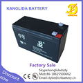 Kanglida rechargeable 12v 8ah vrla battery for ups