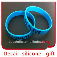 2013 High quality hot gift silicone bracelet women