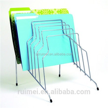 hanging table file metal wire file racks file rack