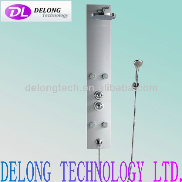CE wholesale low price 1300*205*75MM fashion design aluminium shower board panels