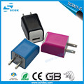 Best selling US plug power usb adapter