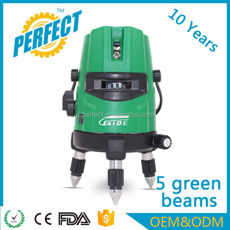 Auto cross self leveling 360 degree laser green level cheap prices