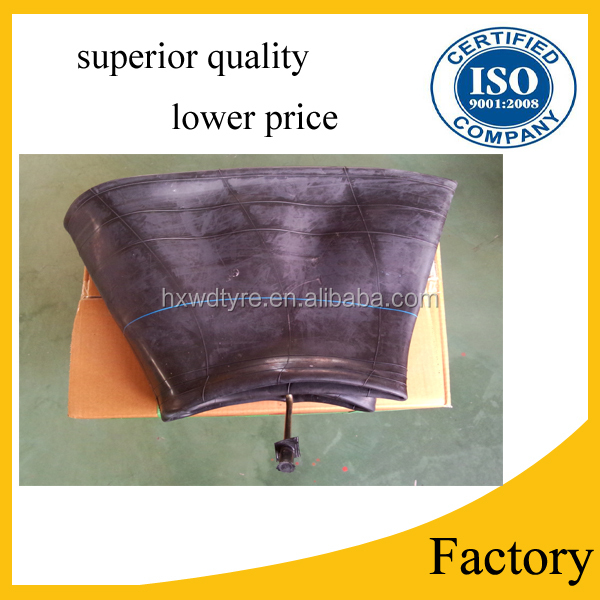 Truck parts tire inner tube, butyl inner tube 7.00-20