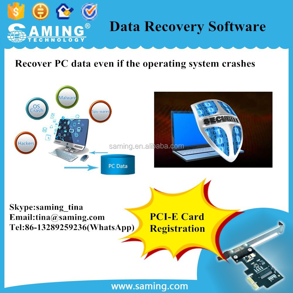 BIOS Based Data Recovery Software / SAMING HD Shield/ USB Flash Drive registration Software