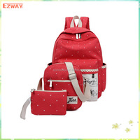 China Manufacturer Fashion Wholesale Promotional School Backpack Bag