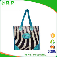 Advertising customized gift bag pp woven plastic shopping bag creative