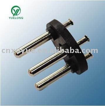 XY - A - 005 Israe 3 pin plug insert with RoHS we can supply samples free