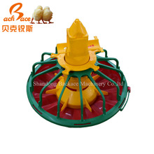 Poultry feeding system chicken feeder tray with compartments