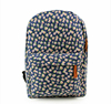 Big Zipper Floral Backpack Mountain Back Pack Girls School Book Bag SJ126