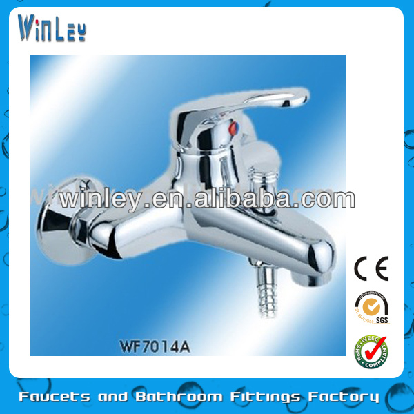 2015 CE RoHS Listed Single Handle Shower Faucet Cheap Brass Single Handle Bath Faucet