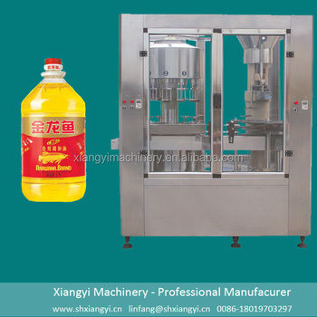 Shanghai factory price for cooking oil filling machine