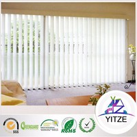 Top Polyester Unique Stylish Made Stablity Vertical Roller Blinds