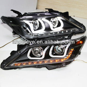 Aurion Camry LED Strip U Type Angel Eyes Head Light For TOYOTA LD V1