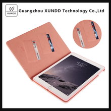 [XUNDD]Ultra Thin Slim Book style wallet stand Back Smart Case Cover 9.7 inch Tablet Leather Cases for iPad pro 9.7