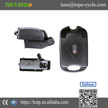 Seat tube e-bike battery 36 volt lithium ion battery for electric bicycle
