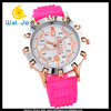WJ-4764 Newest Colorful Women Jelly Watch Silicone