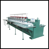 Multi Head Computerized Embroidery Machines