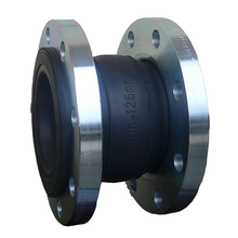 high quality ANSI standard EPDM rubber expansion joint with SS304 flange