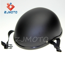 ZJMOTO Universal Fit XL Size ABS MOTORCYCLE Open Face Helmet