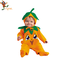 PGCC5111 Kids Custom Pumpkin Dress Costumes Carnival Halloween Costumes For Kids