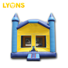 2018 new design inflatable bouncers house and slide inflatable bouncer castle