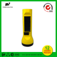 Rechargeable Lithium Battery USB Solar Torch Led Solar Lighting Torch For Farmer