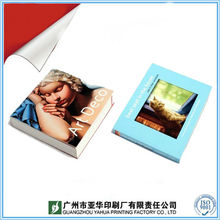 Coated paper souvenir book design & printing
