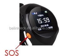 CE 0700 Smart small GPS wrist watch phone for kids children with Web software Android APP tracking