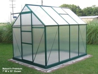 Nature's Premium Hobby Greenhouse 7' W x 19' L