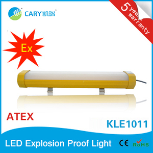 ATEX certified KLE1011-50 Explosion proof high quality LED light 18w-80w