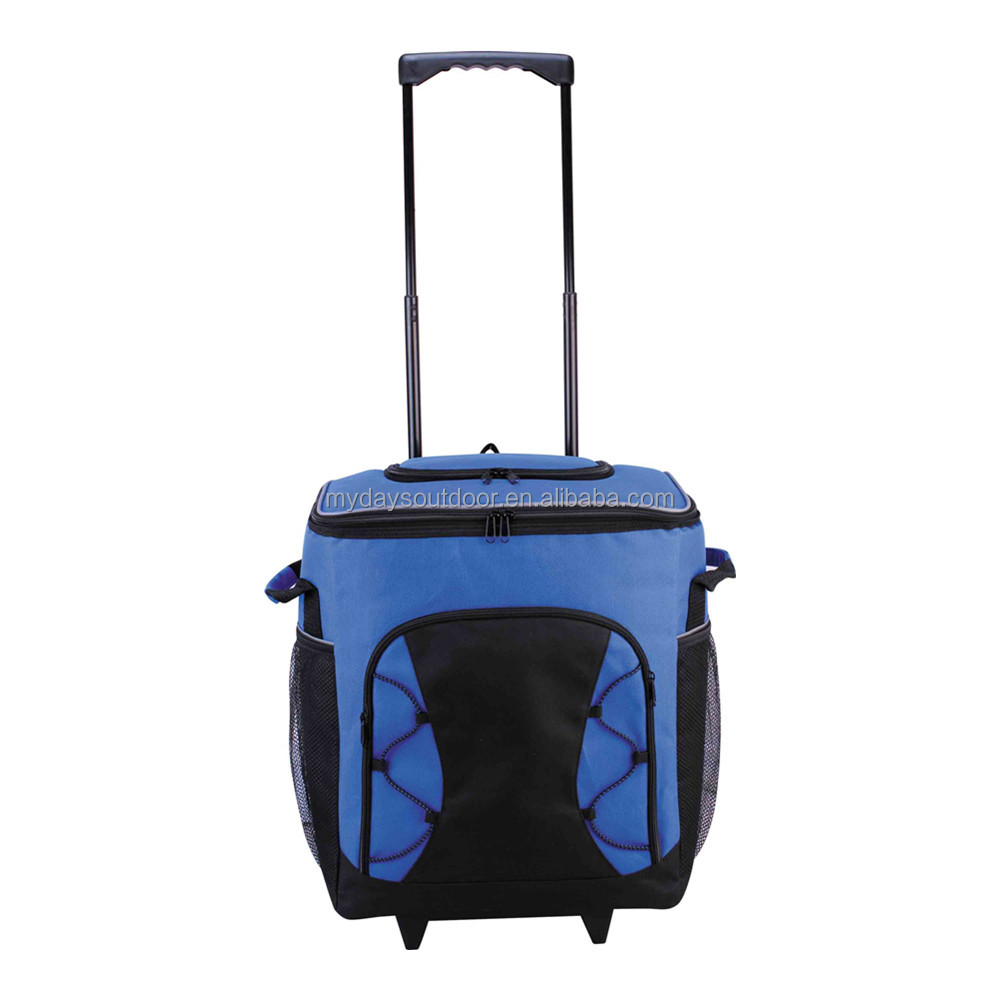Trolly travel insulated cooler bag duffel bag Luggage with wheels
