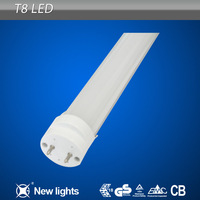 led t8 28W clear frosted tube light big discount