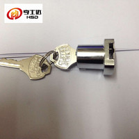 The most selling For export glass door lock (328)