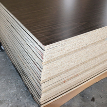 wood grain melamine laminated particle board