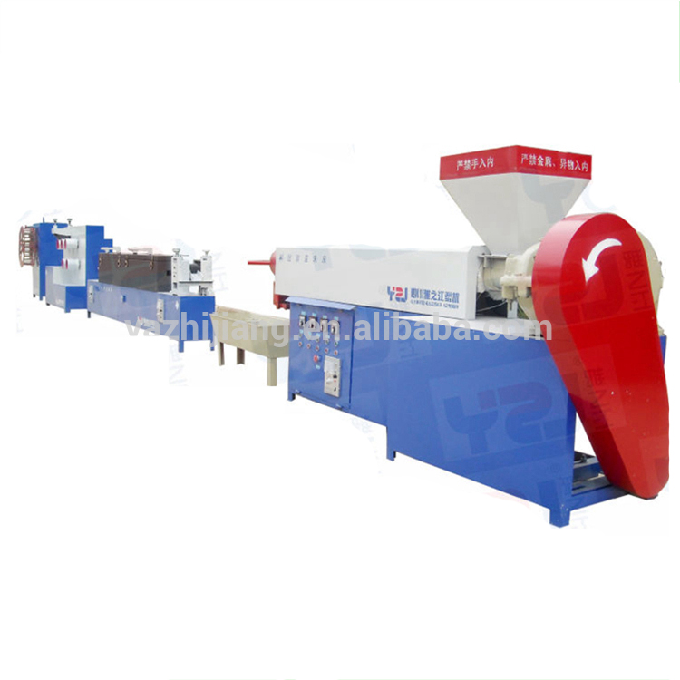 pp strapping band making machine and packing plastic box making machine