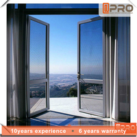 China made Aluminum frame interior door design for house with lower price.