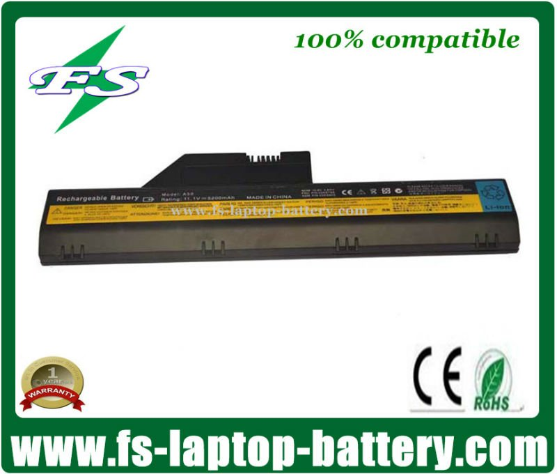 Replacement laptop battery for Lenovo IBM Thinkpad A30 A30P A31 A31P 02K6794 02K6898 02K7020 A30 laptop battery