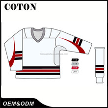 Quality cheap free sample ice hockey jersey