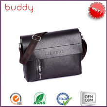 New brand polo men pu leather bag