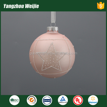 2017 products christmas ornament ball with star
