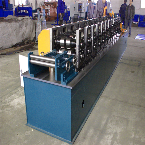 hydraulic C purline metal sheet roof roll building machine