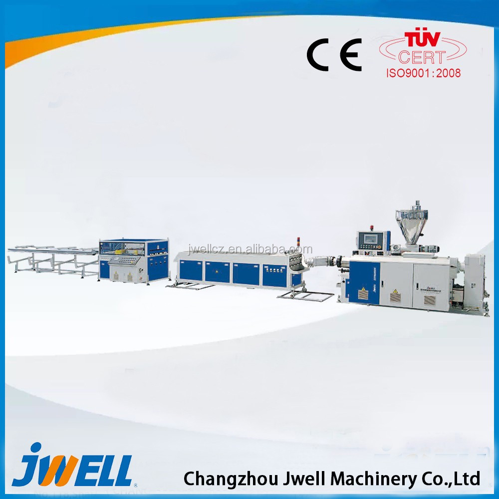 Jwell HDPE Water Supply Pipe/Gas Pipe Energy-saving and High Speed Extruded Plastic Shapes