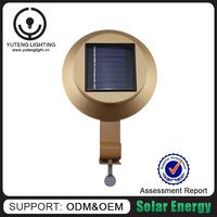 High quality best selling item save energy 3 LED solar lights for outside