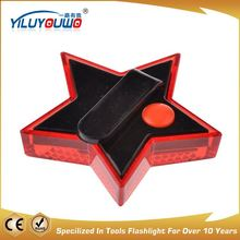 Fine appearance factory directly high intensity led rotary solar warning light