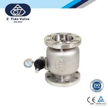 Made in Taiwan Z-TIDE Piston Type Multi-Function Pressure Sustaining / Back Pressure Valve for Water and Air