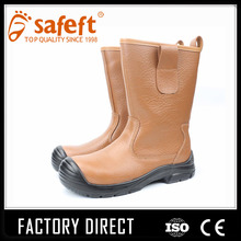 Steel toe trooper fire fighting desert motorcycle winter safety boots