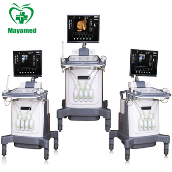 HOT selling CE approved Medical 3D/4D trolley B ultrasound scanner/machine