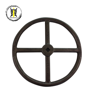 high quality cast iron valve handwheel