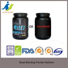 bcaa powder 2:1:1 instant with flavor OEM service